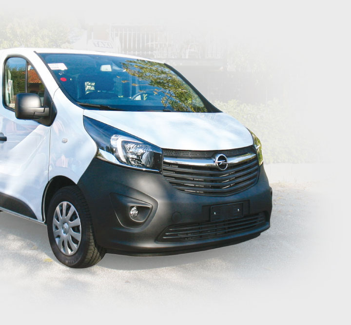 Opel Vivaro Interior Trims for Taxi