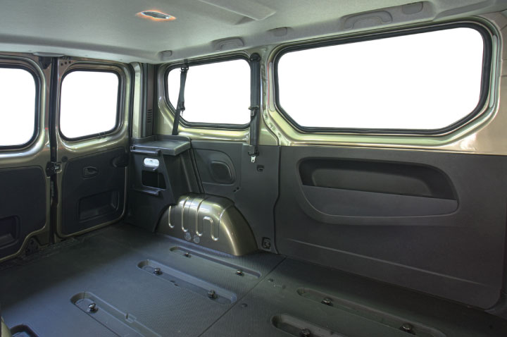 Opel Vivaro Original Internal View