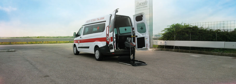 Special Conversion for disabled on Ford Transit Custom