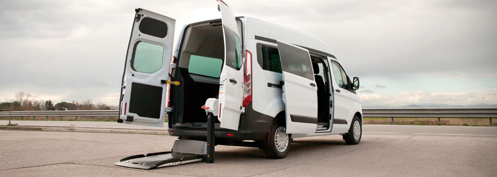 Wheelchair Accessible Ford Transit Custom
