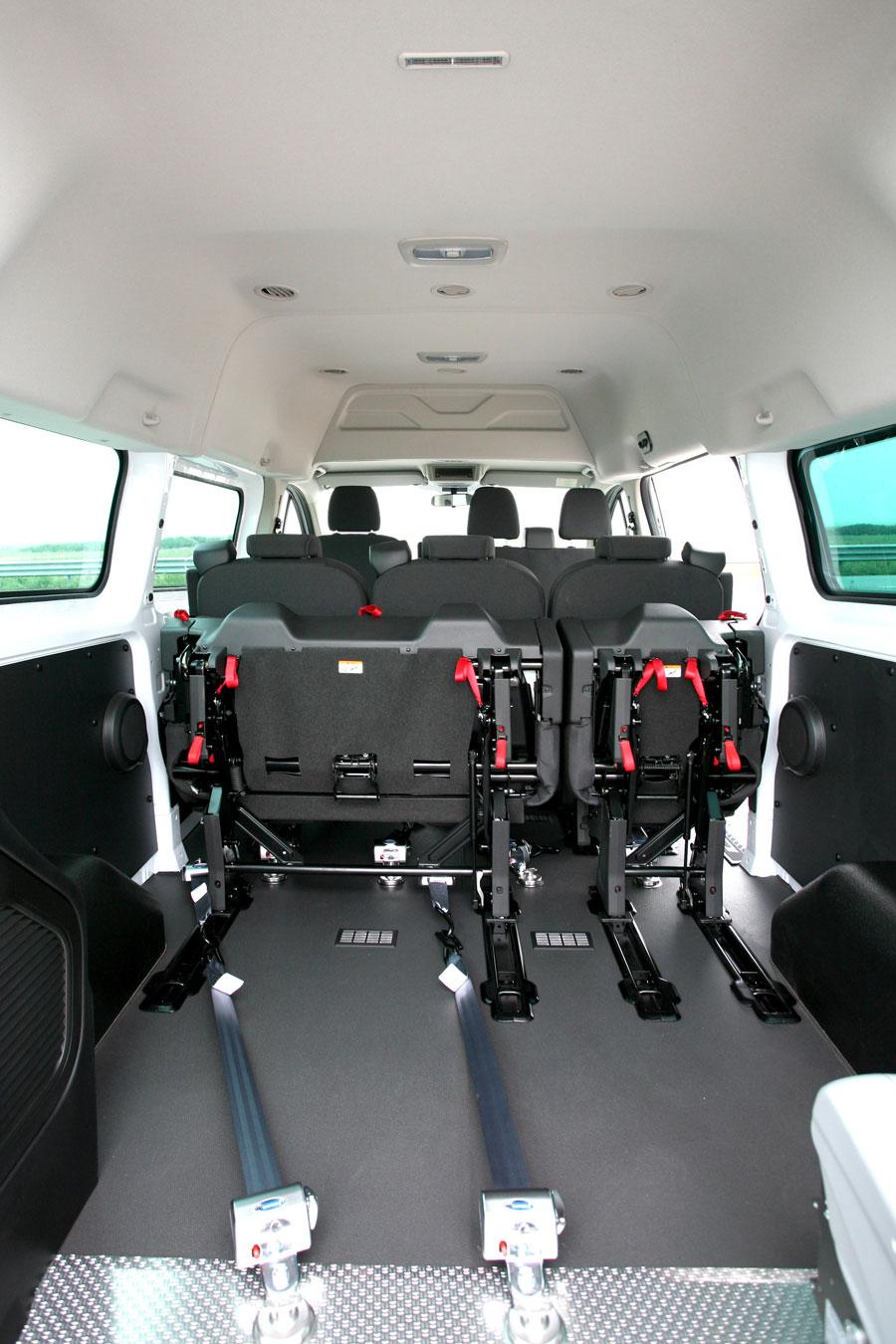 Ford Transit Van >> Ford Transit Custom Wheelchair Van - Fiorella WS