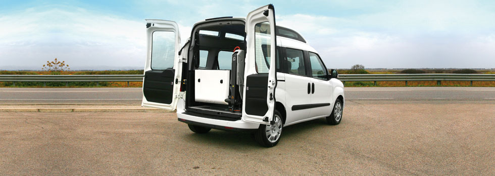 Wheelchair Accessible Opel Combo