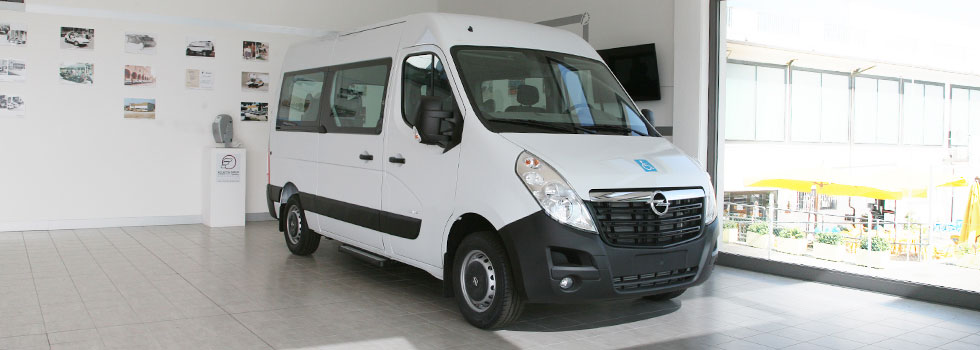 Opel Movano Wheelchair Access